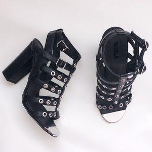 TOPSHOP Roxy Stud High Heels